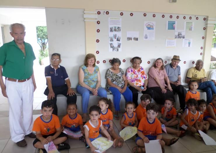Atividades diferenciadas marcam comemoração do Dia do Idoso no Lar dos Velhinhos