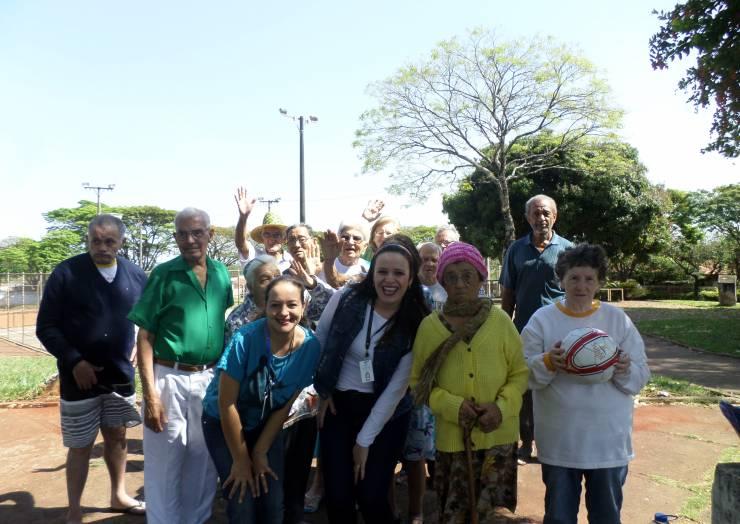 Atividades sobre folclore marcam encerramento de projeto no Lar dos Velhinhos