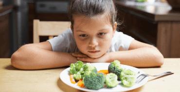 Eles não querem comida saudável